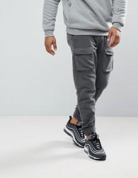 YOURTURN Cargo Joggers In Grey - Grey