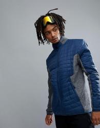 YOURTURN Ski Soft Shell Jacket In Blue - Blue