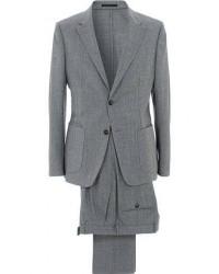 Z Zegna Techmerino Washable Flannel Suit Light Grey men 50