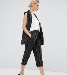 ZACRO Cropped Trousers Co-Ord - Black