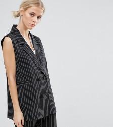 ZACRO Sleeveless Blazer Co-Ord - Black