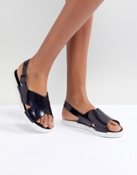 Zaxy by Melissa Match Flat Sandal - Black