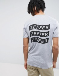 Zeffer Printed T-shirt - Grey