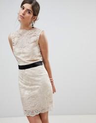 Zibi Lace Dress - Gold
