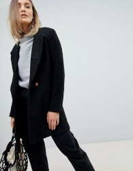 Zibi London Slim Fit Coat - Black