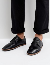 Zign Leather Lace Up Shoes - Black