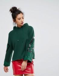 Ziztar Dreams Flow Out Hoodie - Green