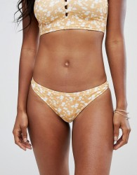 Zulu & Zephyr Arch Bikini Bottom - Yellow
