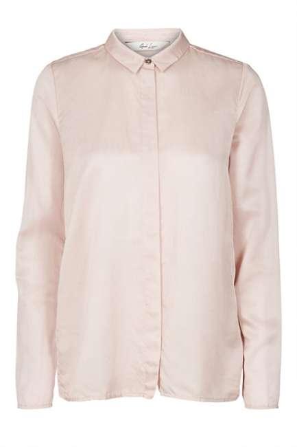 Priser på And Less - Skjorte - Gyda Shirt - Rose Dust
