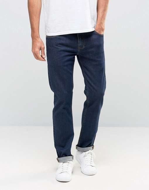 Priser på ASOS Stretch Slim Jeans - Blue