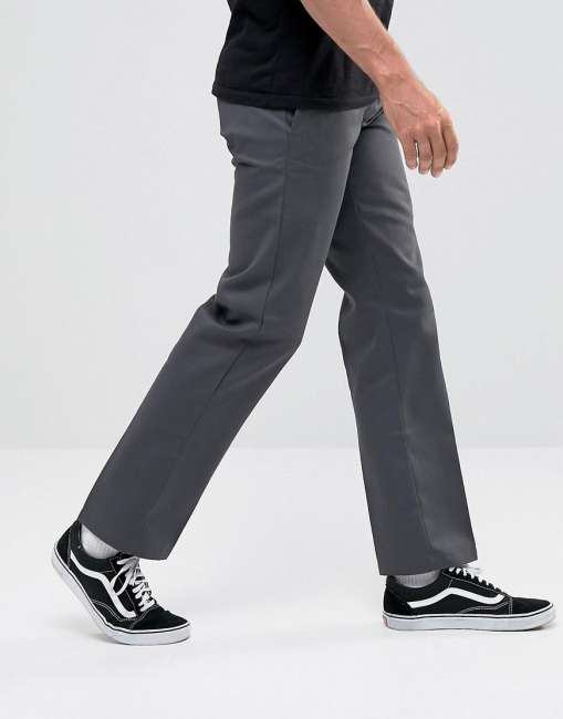 Priser på Dickies 873 Work Pant Chino In Straight Fit In Grey - Grey