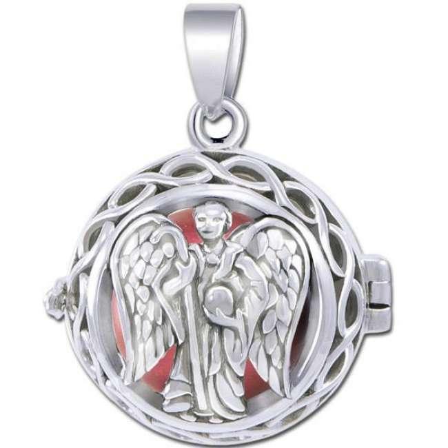 Priser på Engle kalder / Engleklokke med Ærkeenglen Raphael - u/kæde