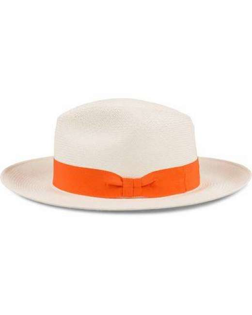 Priser på Frescobol Carioca Panama Hat Orange Ribbon