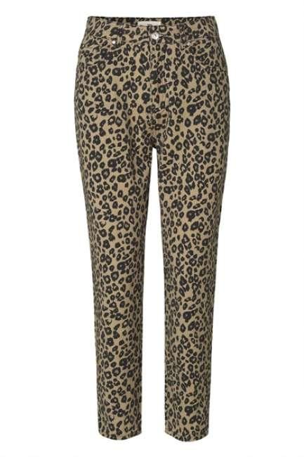 Priser på Global Funk - Jeans - One C Comleo - Leopard
