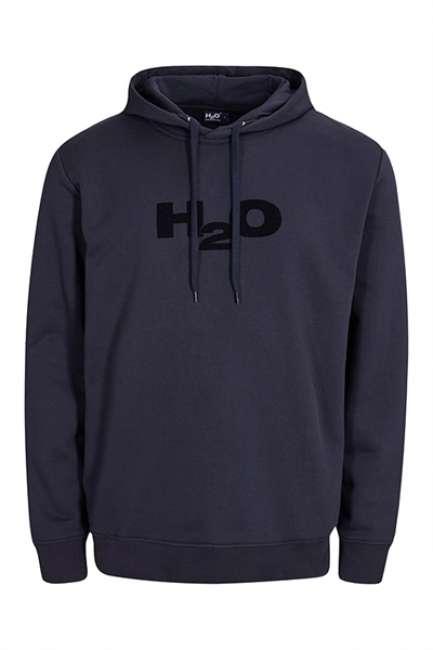 Priser på H2O - Sweatshirt - Lind Sweat Hoodie - Navy