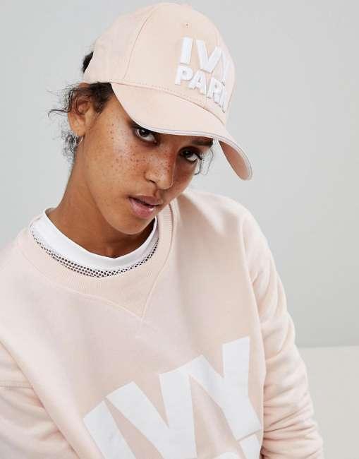 Priser på Ivy Park Logo Cap In Pink - Pink