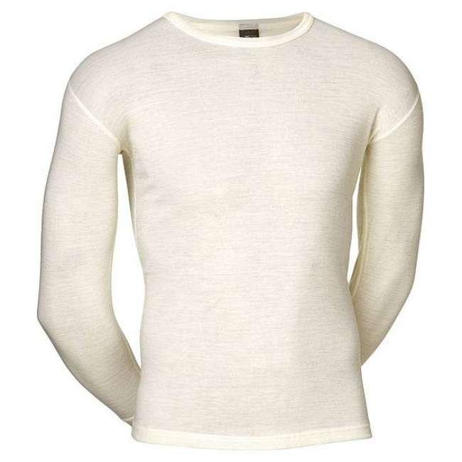 Priser på JBS Undertøj JBS Hvid Uld langærmet T-shirt - Til udendørs aktivitet - 993 14 20