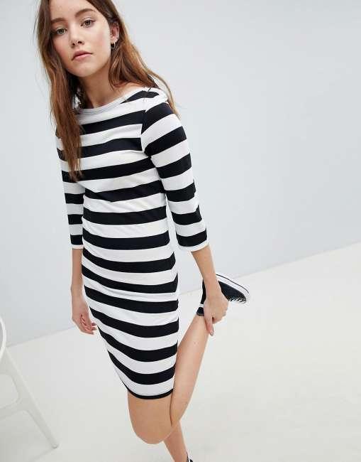 Priser på JDY Striped Jersey Dress - Multi