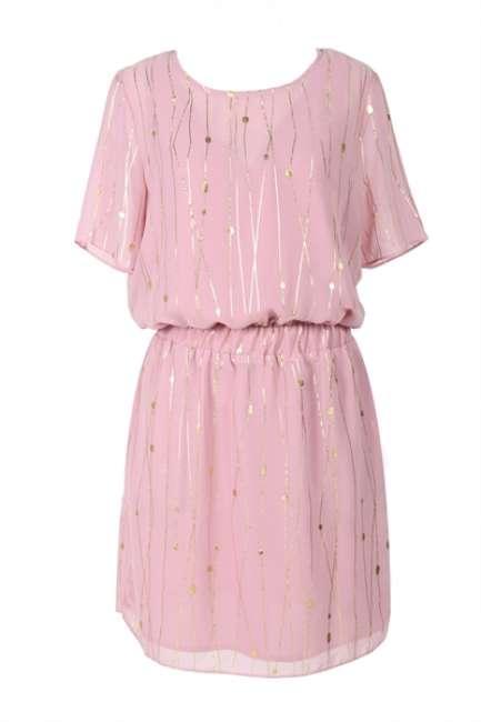 d62d0ab240ea Priser på mbyM - Kjole - Oakley Dress - Web Rose Print ...