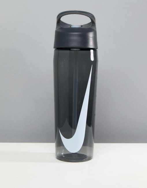 Priser på Nike Hypercharge Straw Black Water Bottle - Black