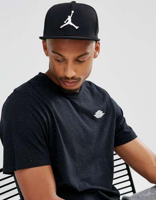 Priser på Nike Jordan Jumpman Snapback Cap In Black 861452-013 - Black