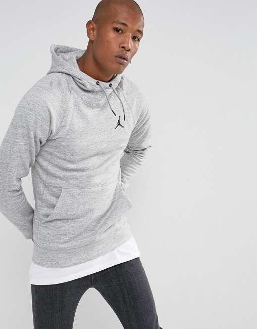 Priser på Nike Jordan Wings Hoodie In Grey 860200-063 - Grey