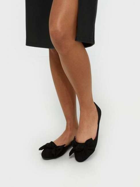 Priser på NLY Shoes Bow Ballerina Ballerina