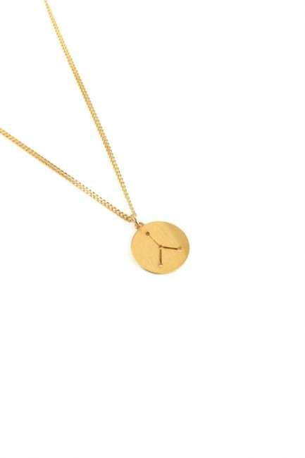Priser på Norr By Erbs - Halskæde - Krebs - Cancer - Gold
