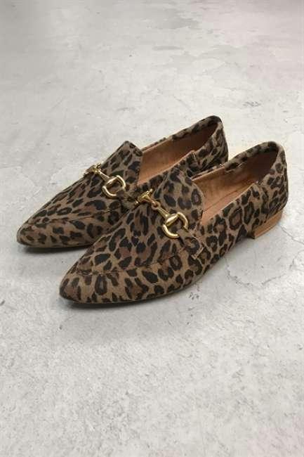 Priser på Pavement - Sko - Jasmin Buckle - Leopard