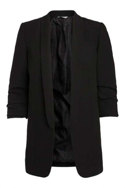 Priser på Pieces - Blazer - PC Boss 3/4 Blazer - Black