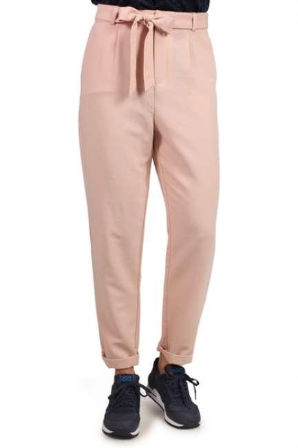 Priser på Pieces - Bukser - PC Joy HW Pants - Cameo Rose