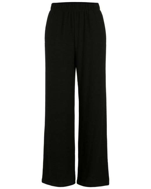 Priser på Pieces Nancie wide pants (SORT, XL)