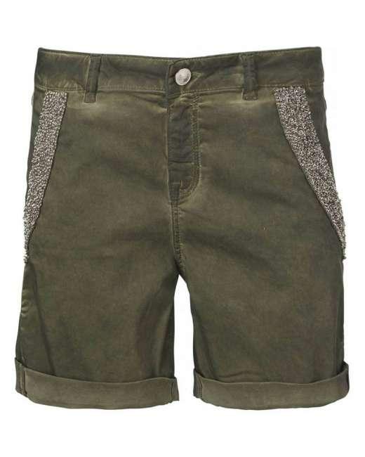 Priser på Pieszak Alberta shorts (OLIVEN, 30/76)