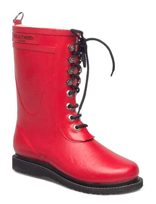 Priser på Rain Boot - Mid Calf, Classic With Laces