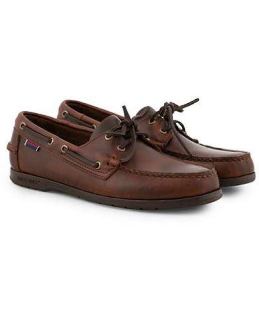 Priser på Sebago Endeavor Boat Shoe Brown men US7,5 - EU41 Brun