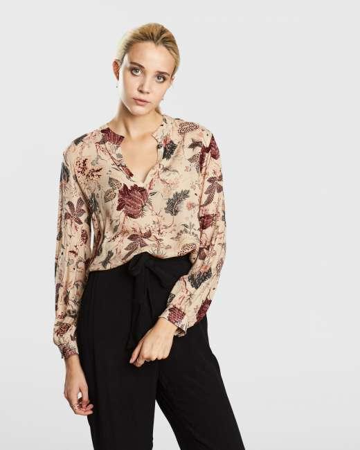 Priser på Second Female Kaya bluse