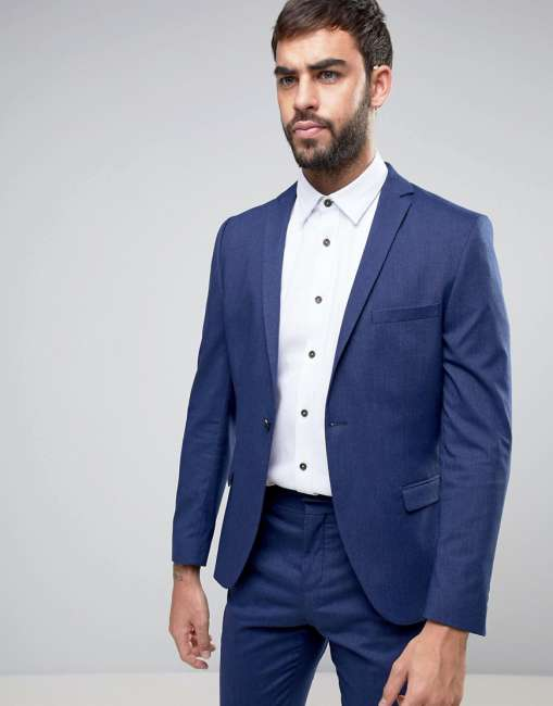 Priser på Selected Homme Super Skinny Suit Jacket - Navy