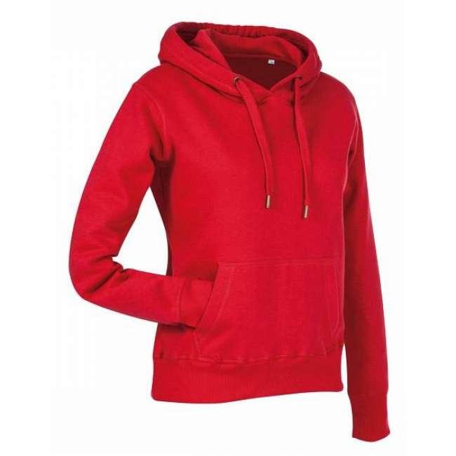 Priser på Stedman Active Sweat Hoody For Women - Red * Kampagne *