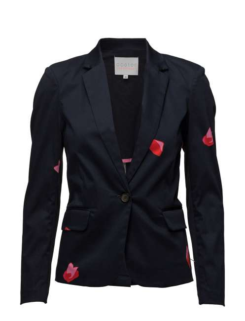 Priser på Suit Jacket W. Blot Print