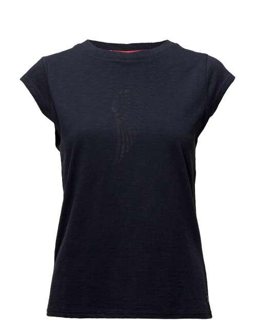 Priser på T-Shirt W. Burn-Out Wing