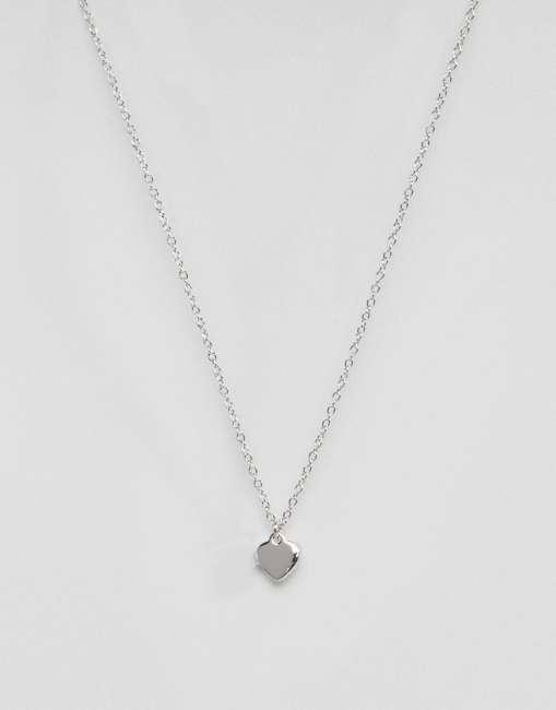 Priser på Ted Baker Hara Tiny Heart Pendant Necklace - Silver