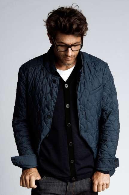 Priser på The Quilted Jacket slim fit